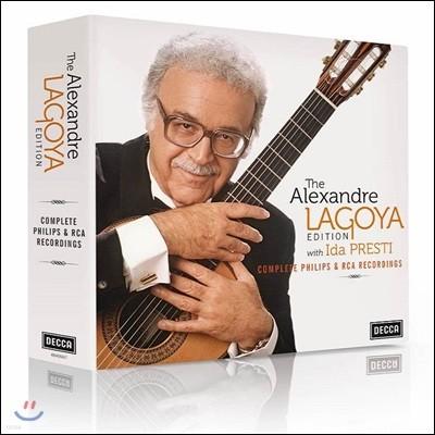 알렉산드르 라고야 필립스 & RCA 녹음 전집 (The Alexandre Lagoya Edition - Complete Philips & RCA Recordings)