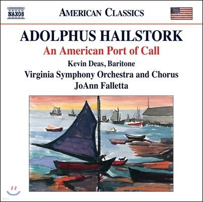 JoAnn Falletta 애덜퍼스 헤일스톡: 교향곡 1번, 3개의 흑인영가, 에메이징 그레이스 팡파르 (Adolphus Hailstork: An American Port of Call)
