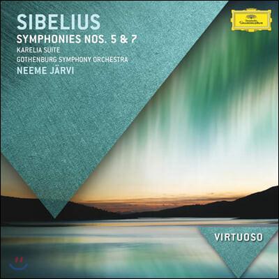 Neeme Jarvi 시벨리우스: 교향곡 5, 7번 (Sibelius: Symphony Op. 82, 1058/)