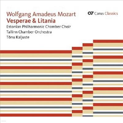Mozart: Vesperae & Litania - Tonu Kaljuste