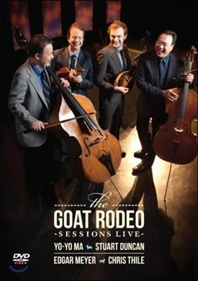 Yo-Yo Ma - The Goat Rodeo Sessions Live 요요 마 & 크리스 타일, 스튜어트 던컨, 에드가 마이어 (DVD)