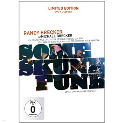 Randy Brecker & Michael Brecker With WDR Big Band - Some Skunk Funk-Leverkusener Jazztage (PAL방식)(DVD+CD) (2006)