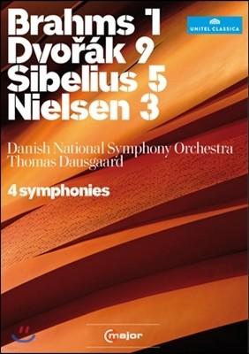 Thomas Dausgaard 브람스 / 드보르작 / 닐센 / 시벨리우스: 교향곡 (conducts 4 Symphonies)
