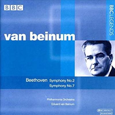 베토벤 : 교향곡 2, 7번 (Beethoven : Symphony No.2 Op.36, No.7 Op.92) - Eduard Van Beinum