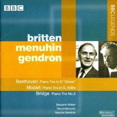 베토벤, 모차르트, 브리지 : 피아노 삼중주 (Beethoven, Mozart, Bridge : Piano Trios) - Benjamin Britten