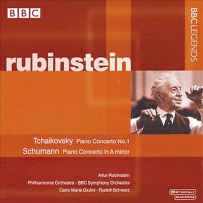 차이코프스키, 슈만 : 피아노 협주곡 (Tchaikovsky, Schumann : Piano Concertos) - Arthur Rubinstein