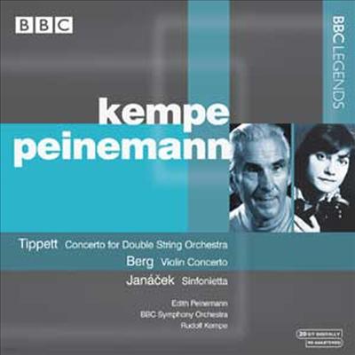 티펫 : 이중 현악 오케스트라를 위한 협주곡, 베르크 : 바이올린 협주곡 '한 천사를 추억하며', 야나체크 : 신포니에타 (Tippett : Concerto for Double String Orchestra, Berg : Concerto for Violin, Janacek : S