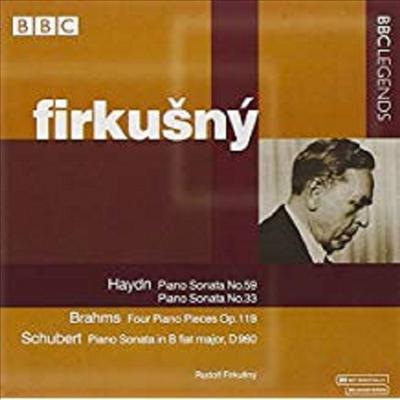 하이든, 브람스, 슈베르트 : 피아노 소나타 (Haydn, Brahms, Schubert : Piano Sonatas) - Rudolf Firkusny