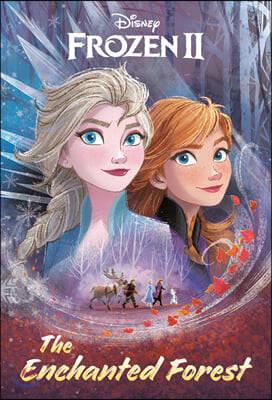 Disney Frozen 2 : The Enchanted Forest 디즈니 겨울왕국 2 마법의 숲 공식 소설 (챕터북)