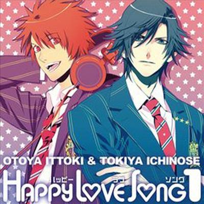 Ittoki Otoya (Terashima Takuma) & Ichinose Tokiya (Miyano Mamoru) - Uta no Prince Sama Happy Love Song 1 (Single)