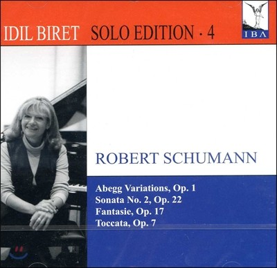 Idil Biret 슈만: 아베크 변주곡, 환상곡, 토카타, 소나타 - 이딜 비렛 (Schumann : Abegg Variations Etc.)