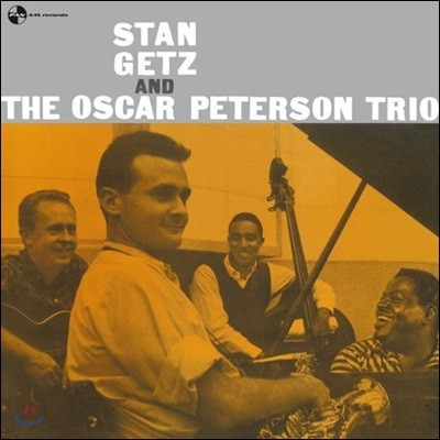 Stan Getz (스탄 게츠) - Stan Getz and the Oscar Peterson Trio [LP]