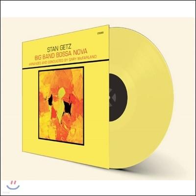 Stan Getz (스탄 게츠) - Big Band Bossa Nova [옐로우 컬러 LP]
