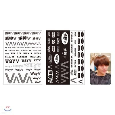 WayV_YANGYANG_TATTOO+STICKER SET