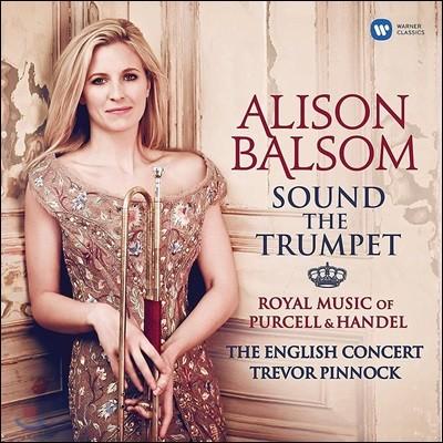 Alison Balsom 알리슨 발솜 트럼펫 연주집 - 헨델과 퍼셀의 아리아 (Sound The Trumpet) [2LP]