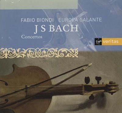Fabio biondi , Europa galante - 바흐 협주곡(Bach concerto)
