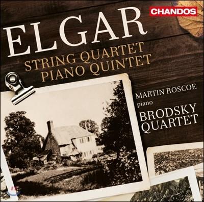 Martin Roscoe 엘가: 현악 사중주, 피아노 오중주 (Elgar: String Quartet, Piano Quintet)