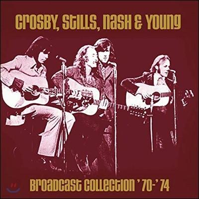 Crosby, Stills, Nash & Young (크로스비, 스틸스, 내쉬 앤 영) - Broadcast Collection '70 - '74
