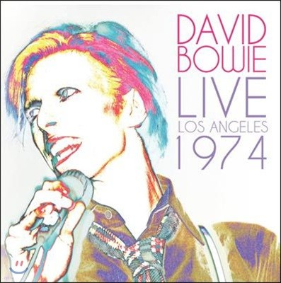 David Bowie (데이비드 보위) - Live Los Angeles 1974 [2LP]