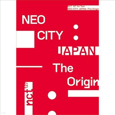 엔시티 127 (NCT 127) - 1st Tour 'Neo City : Japan - The Origin' (지역코드2)(3DVD+Photobook) (초회생산한정반)
