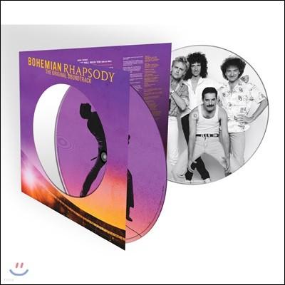 보헤미안 랩소디 영화음악 (Queen - Bohemian Rhapsody OST) [픽쳐 디스크 2LP]