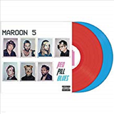 Maroon 5 - Red Pill Blues (Tour Edition)(Gatefold Cover)(Red/Blue 2LP)