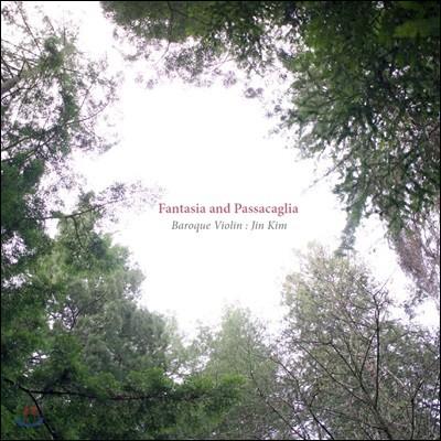 김진 - 바이올린 독주집 / 바흐: 파르티타 2번 `샤콘느` / 텔레만: 환상곡 외 (Fantasia and Passacaglia)