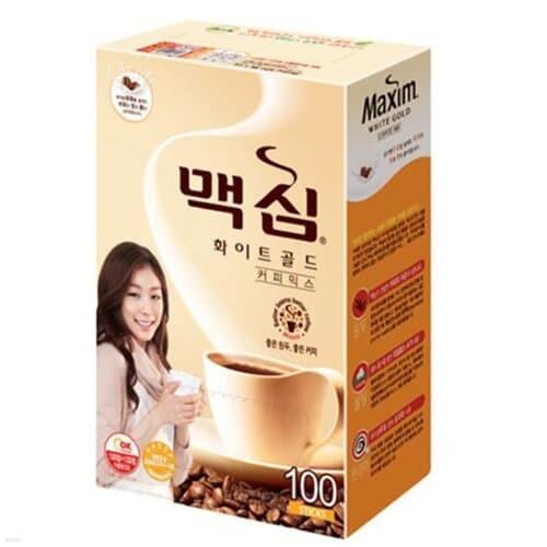 [맥심] 화이트골드 커피믹스 100T