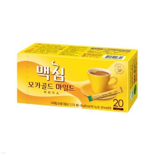 [맥심] 커피믹스 모카골드 12gx20T