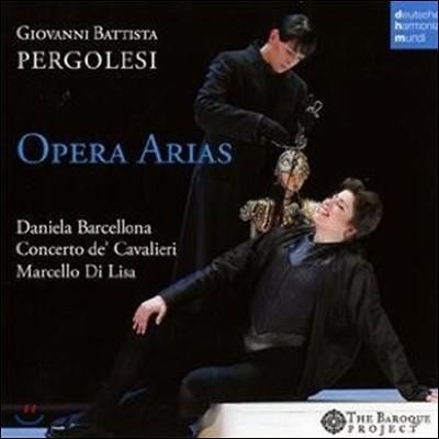 페르골레지 : 오페라 아리아 - 다니엘라 바르셀로나