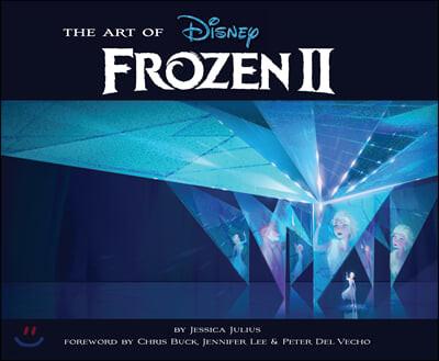 The Art of Frozen II : 디즈니 겨울왕국 2편 공식 컨셉 아트북