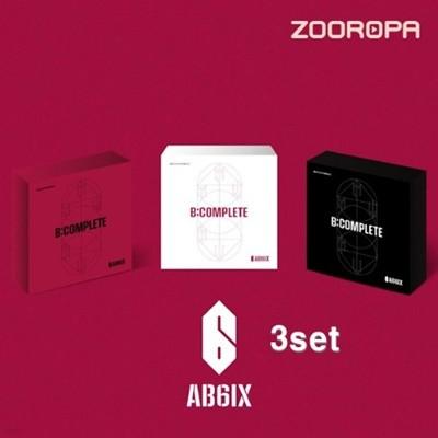 [미개봉][주로파][3종세트/무료배송] 에이비식스 (AB6IX) 미니 1집 B:COMPLETE ep Breathe