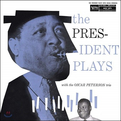 Lester Young & Oscar Peterson (레스터 영 & 오스카 피터슨) - The President Plays With The Oscar Peterson Trio [LP]