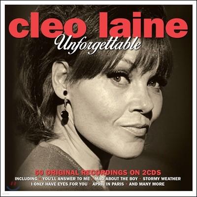 Cleo Laine (클레오 레인) - Unforgettable
