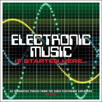 초기 일레트로닉 음악 모음집 (Electronic Music... It Started Here)