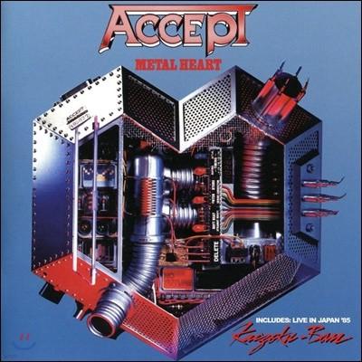 Accept (억셉트) - Metal Heart / Kaizoku-Ban: Live In Japan 85'