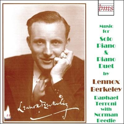 Raphael Terroni 레녹스 버클리: 피아노 작품집 (Lennox Berkeley: Piano Works