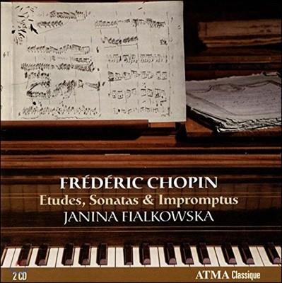 Janina Fialkowska 쇼팽: 연습곡, 소나타, 즉흥곡 (Chopin: Etudes, Sonatas, Impromptus)