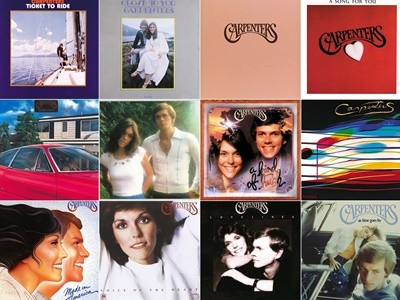 Carpenters - Studio Album 총 12장 (Remastered)