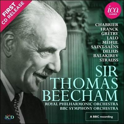토머스 비첨이 지휘한 BBC 레코딩 모음집 (Sir Thomas Beecham BBC Recordings)
