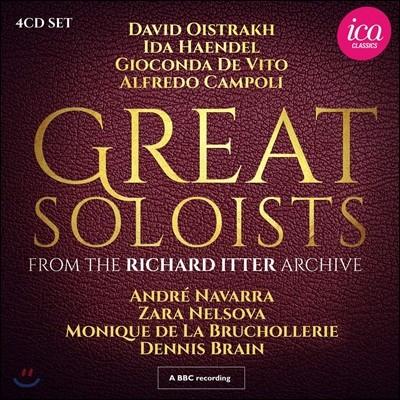 20세기의 위대한 솔리스트들이 펼친 마법의 순간들 (Great Soloists from the Richard Itter Archive)