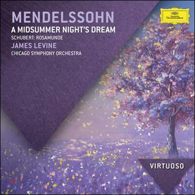 James Levine 멘델스존: 한여름밤의 꿈 / 슈베르트: 로자문데 (Mendelssohn: A Midsummer Night's Dream / Schubert: Rosamunde)
