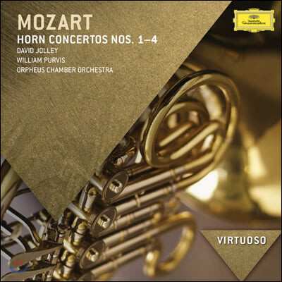 David Jolley / William Purvis 모차르트: 호른 협주곡 1-4번 (Mozart: Horn Concertos K12, 417, 447, 495)