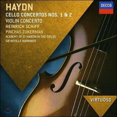 Heinrich Schiff 하이든: 첼로 협주곡 1, 2번 (Haydn: Cello Concertos Hob. VIIb:1, 2)