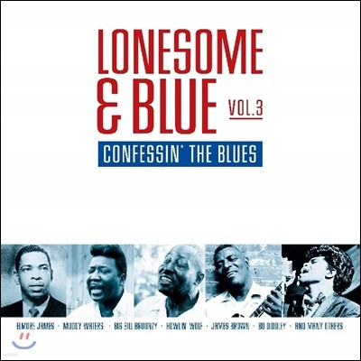 Lonesome & Blue Vol.3: Confessin' the Blues [투명 레드 컬러 LP]