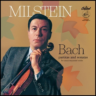 Nathan Milstein 바흐: 바이올린을 위한 무반주 파르티타와 소나타 (Bach: Partitas and Sonatas for Unaccompanied Violin) [3LP 박스 세트]