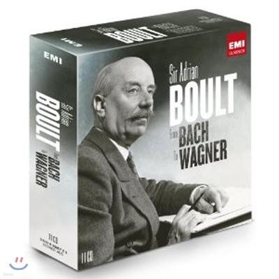 아드리안 볼트 EMI 녹음집 - 바흐에서 바그너까지 (Sir Adrian Boult: From Bach to Wagner)
