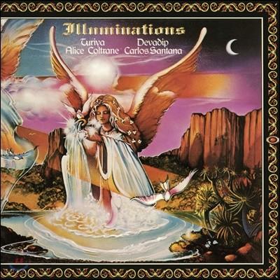 Carlos Santana & Alice Coltrane (카를로스 산타나 앤 앨리스 콜트레인) - Illuminations [LP]