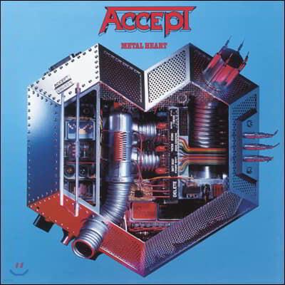 Accept - Metal Heart 억셉트 6집 [LP]