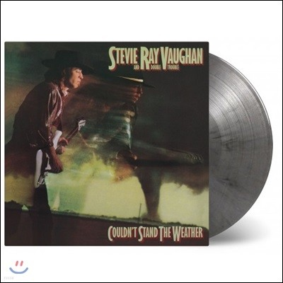Stevie Ray Vaughan - Couldn't Stand the weather 스티브 레이본 정규 2집 [그레이 & 블랙 컬러 2LP]